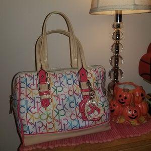 Calvin Klein Mutlicolor Monogram Handbag